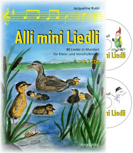 Alli mini Liedli Werkheft mit 2 CDs