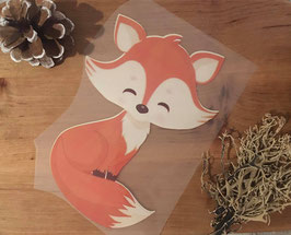 Bügelbild happy Fox