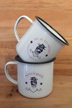 Retro Cup weiß