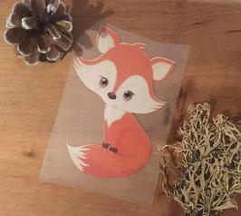 Bügelbild little Fox