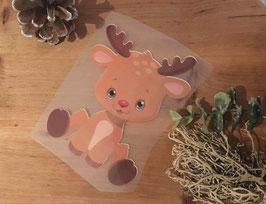 Bügelbild little Reindeer