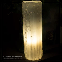 Selenit Lampe