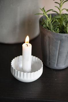 Kerzenständer weiss