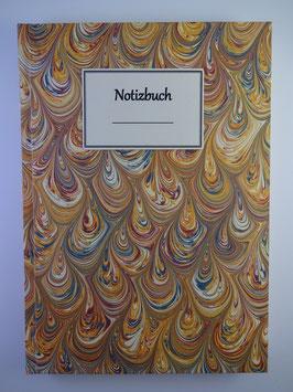 Notizbuch Marmor Gelb