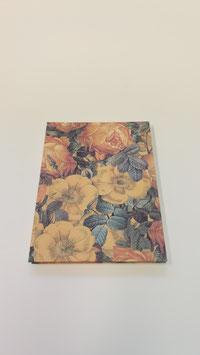 Leporello mit gelben Blumen
