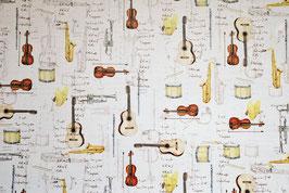 Musikinstrumenten Motiv