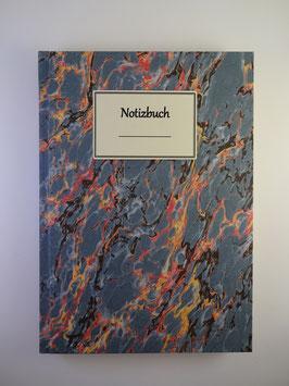 Notizbuch Marmor Blau