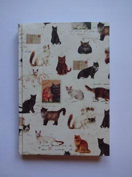 Katzen Motiv Notizbuch