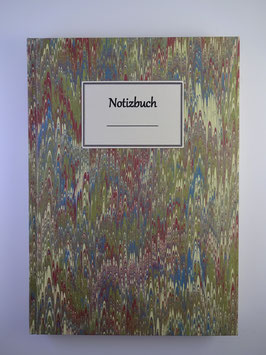 Notizbuch Marmor Grün