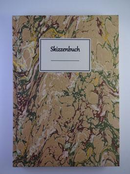 Skizzenbuch Marmor Beige
