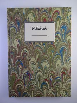 Notizbuch Marmor Hellgrün