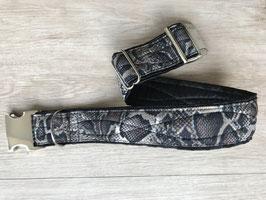 Halsband SNAKE, 45mm Clickverschluss, 56er Halsw.