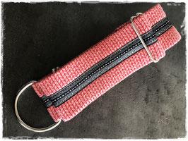 Martingal RED SILVER, längenverstellbar +/-38cm, 5cm breit