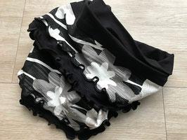 Loop BLACK & WHITE oder Loop IGGY mit Fransen, Hundeschal