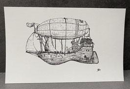 Luftschiff 02 - DRUCK