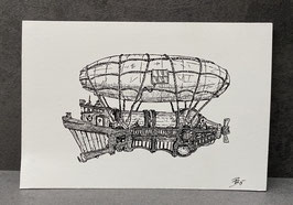 Luftschiff 01 - DRUCK
