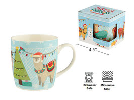 12oz. Llama Bone China Mug