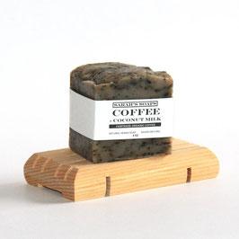 COFFEE + COCONUT MILK - bar soap