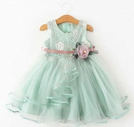 Lace & Chiffon Sleeveless Dress