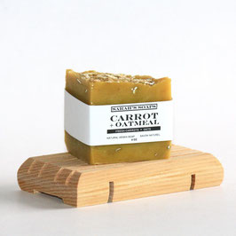 CARROT + OATMEAL - bar soap