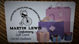 Martin Lewis Confectionery Gift Card