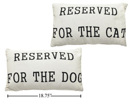 Jacquard Woven Cushion-Cat/Dog