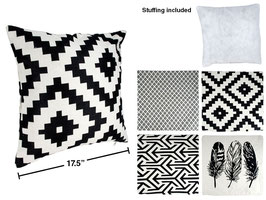 Jacquard Woven Cushion-Boho