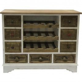 Wooden Kitchen Wine Cabinet