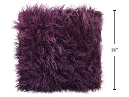 Faux Fur Shaggy Cushion