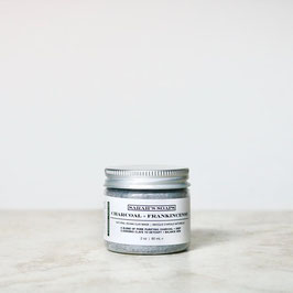 CHARCOAL + FRANKINCENSE - clay mask