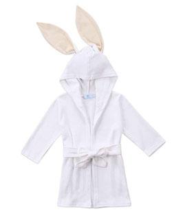 Hooded Bath Robe with Bunny Ears