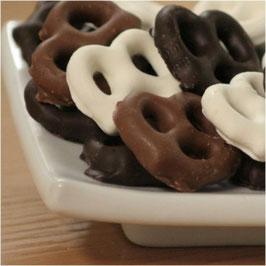 Chocolate Covered Mini Pretzels