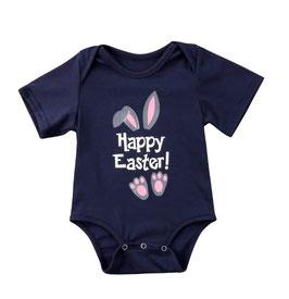Short Sleeve Happy Easter Onesie