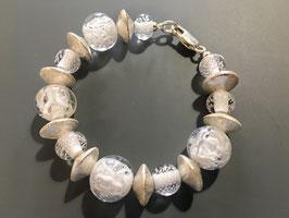 Bracelet Bubble blanc