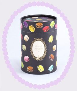 LADUREE Paper Gift Box Macarons Black