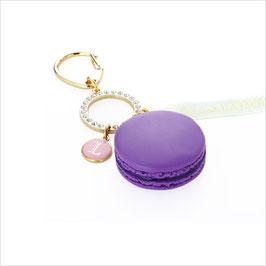 Laduree Cassis Violet Macaron Bag Charm