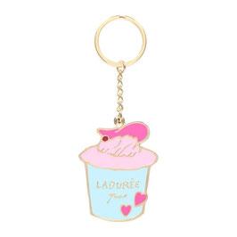 LADUREE Cup Cake Key Chain Mirror LDR-KH23-D