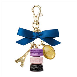 Laduree Cassis Violet Key Ring LDRKH15B