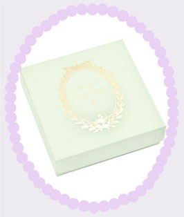 LADUREE Paper Gift Box Green