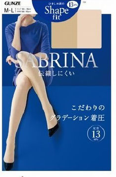 Gunze SABRINA Pantyhose Stocking Shape Fit 13hpa
