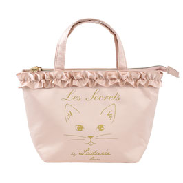 LADUREE Lovely Cat Tote Bag Pink S 25303011A