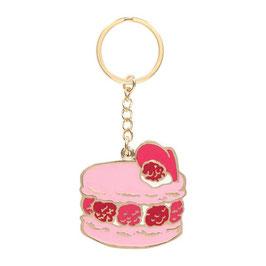 LADUREE Cake Isphahan Mirror Key Chain LDR-KH23-E