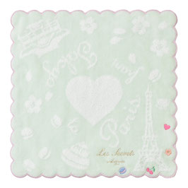 LADUREE From Paris to Tokyo Hand Towel Green