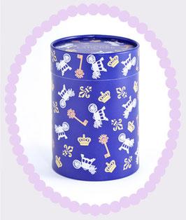 LADUREE Paper Gift Box Les Charm's Chateau Blue