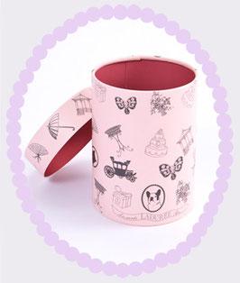 LADUREE Paper Gift Box Charms Pink