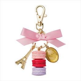 New Laduree ROSE Macaron Key Ring LDR-KH15-A