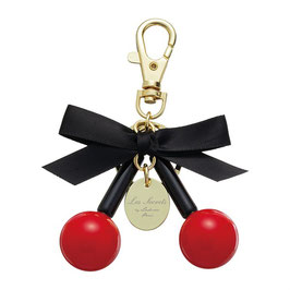 LADUREE Key Chain Key Ring Cerise Rouge Red
