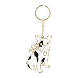 LADUREE DOG Mirror Key Chain LDR-KH23-A