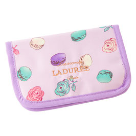 LADUREE Roses et macarons Pouch Pink  25301834A