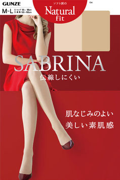 Gunze SABRINA Pantyhose Stocking Natural Fit